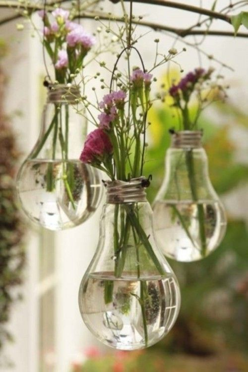 Wedding Lamp Flowers