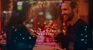 digital wedding invitation